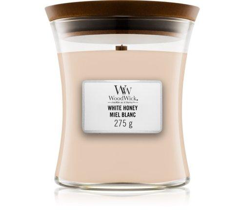 WoodWick White Honey - Medium Candle