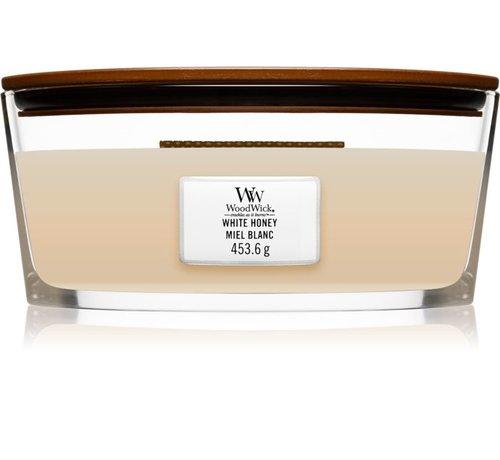 WoodWick White Honey - Ellipse Candle