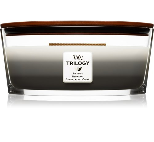 WoodWick Trilogy Warm Woods - Ellipse Candle