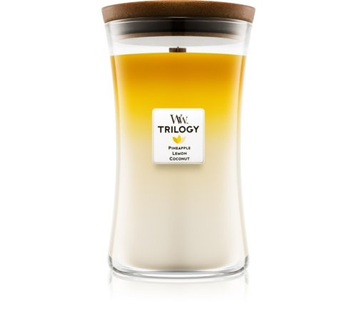 WoodWick Trilogy Fruits Of Summer - Large Candle