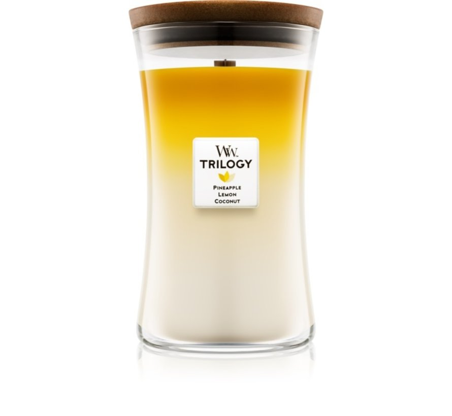 Trilogy Fruits Of Summer - Large Candle