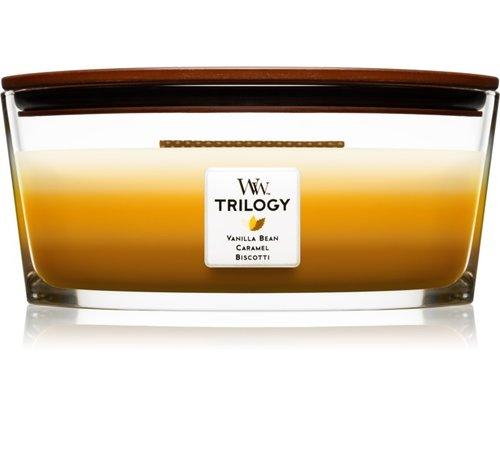 WoodWick Trilogy Café Sweets - Ellipse Candle