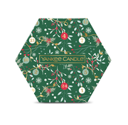 Yankee Candle Countdown To Christmas 18 Tea Light & 1 Holder Gift Set