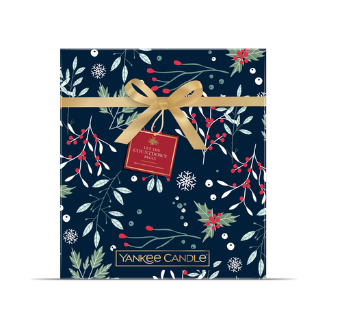 Yankee Candle Countdown To Christmas Advent Calendar Book Gift Set