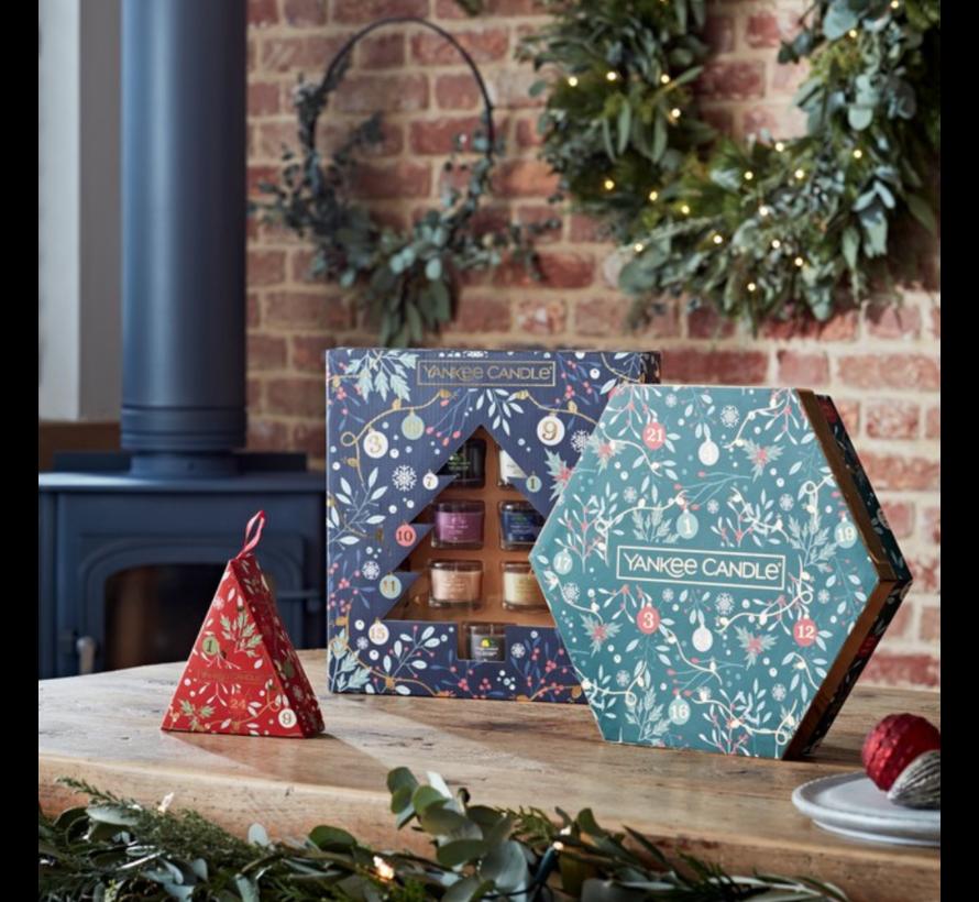 Countdown To Christmas Wreath Advent Calendar