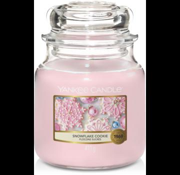 Yankee Candle Snowflake Cookie - Medium Jar