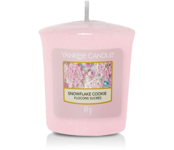 Yankee Candle Snowflake Cookie - Votive