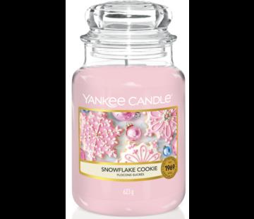 Yankee Candle Snowflake Cookie - Large Jar
