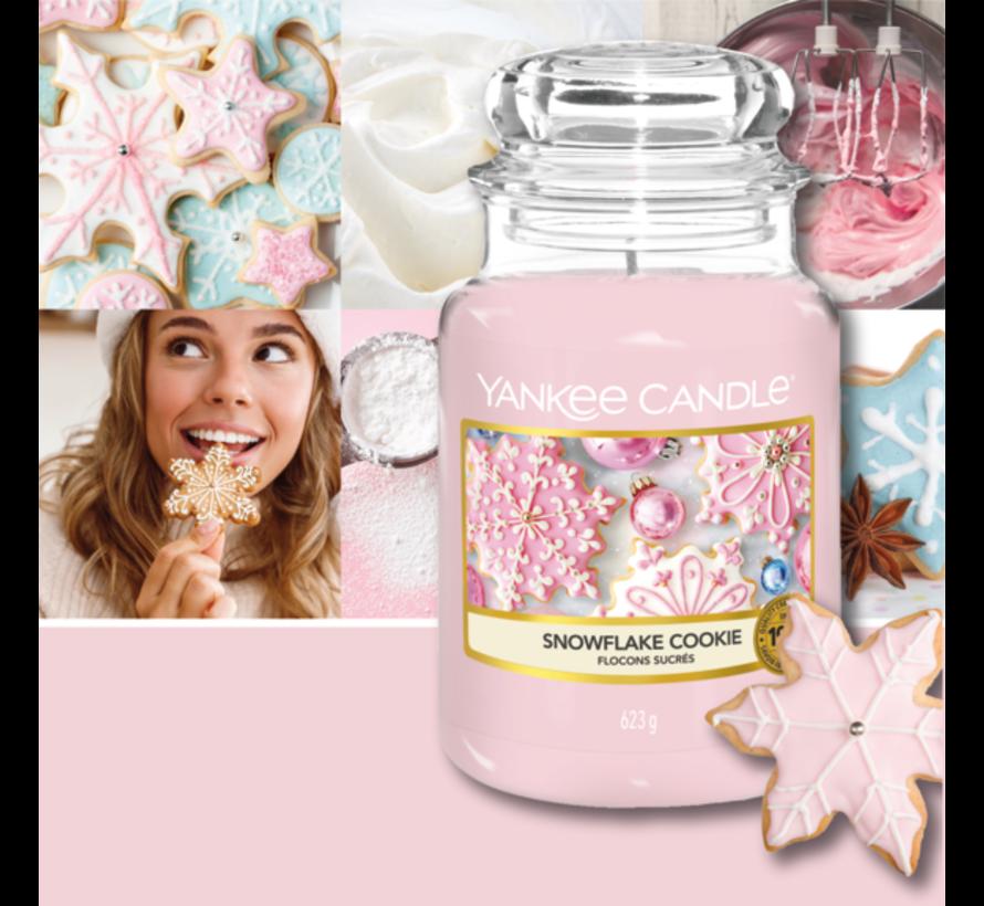 Snowflake Cookie - Large Jar