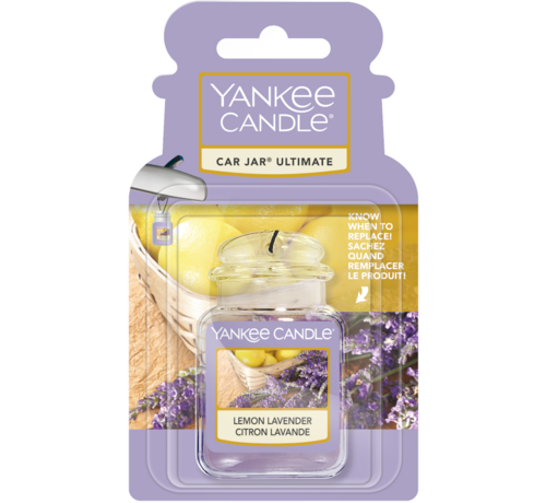 Yankee Candle Lemon Lavender Car Jar Ultimate