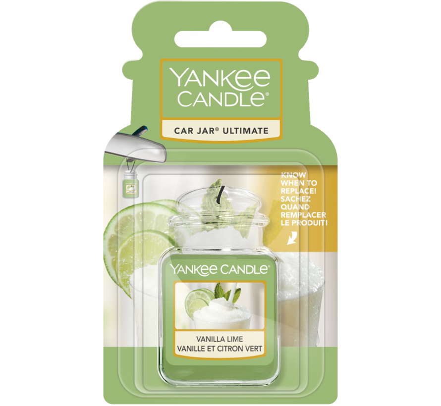 Vanilla Lime Car Jar Ultimate