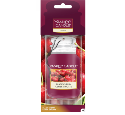 Yankee Candle Black Cherry - Car Jar