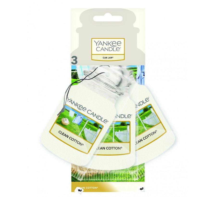 Clean Cotton - Car Jar 3-Pack