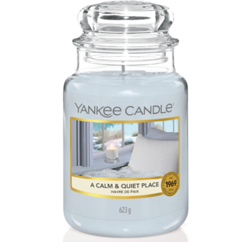Yankee Candle A Calm & Quiet Place - Large Jar