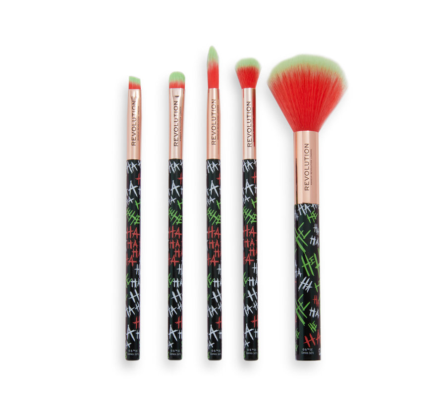 x The Joker™ - Put On A Happy Face Brush Set
