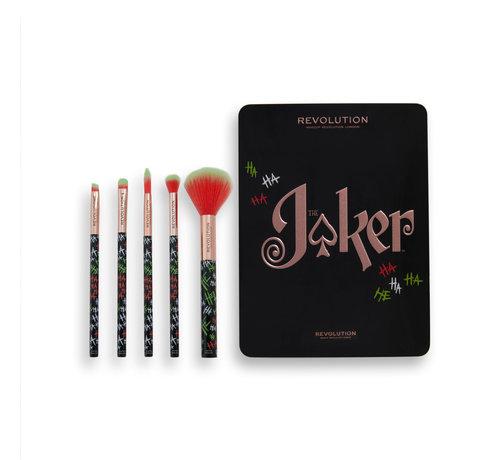 Makeup Revolution x The Joker™ - Put On A Happy Face Brush Set