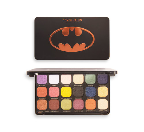 Makeup Revolution x Batman™ - This City Needs Me Forever Flawless Palette