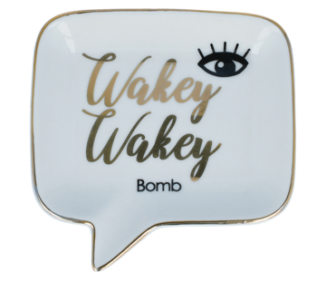 Bomb Cosmetics Soap Dish - Wakey Wakey