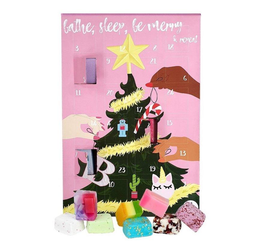 Bathe, Sleep, Be Merry & Repeat Advent Calendar