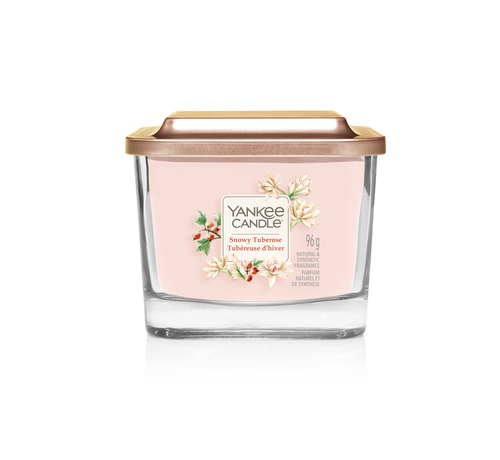 Yankee Candle Snowy Tuberose - Small Vessel