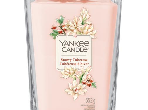 Yankee Candle Snowy Tuberose - Large Vessel