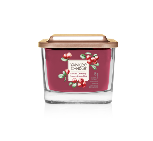 Yankee Candle Candied Cranberry - Small Vessel