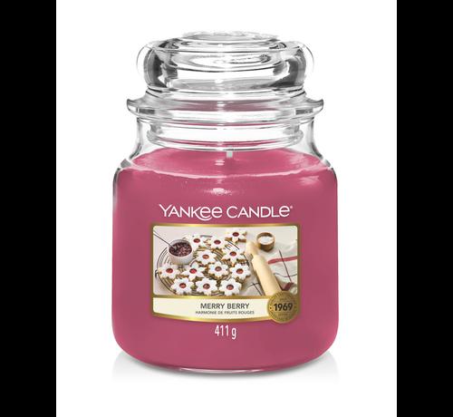 Yankee Candle Merry Berry - Medium Jar