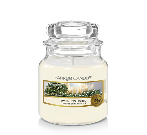 Yankee Candle Twinkling Lights - Small Jar