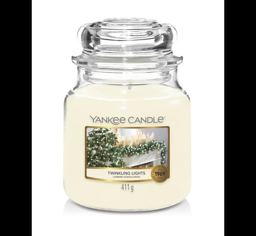 Yankee Candle Twinkling Lights - Medium Jar