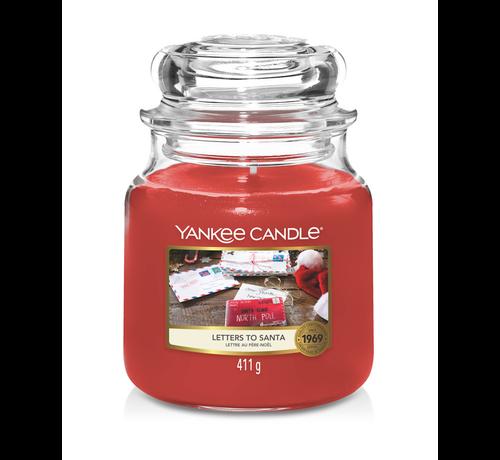 Yankee Candle Letters To Santa - Medium Jar