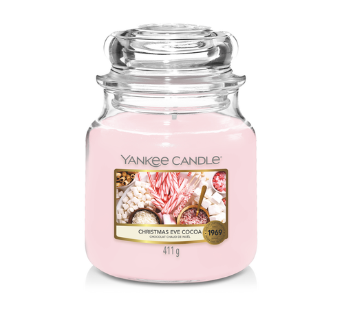 Yankee Candle Christmas Eve Cocoa - Medium Jar