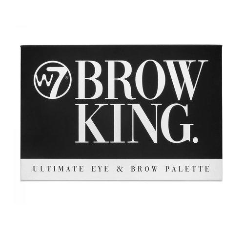 W7 Make-Up Brow King Ultimate Eye & Brow Palette