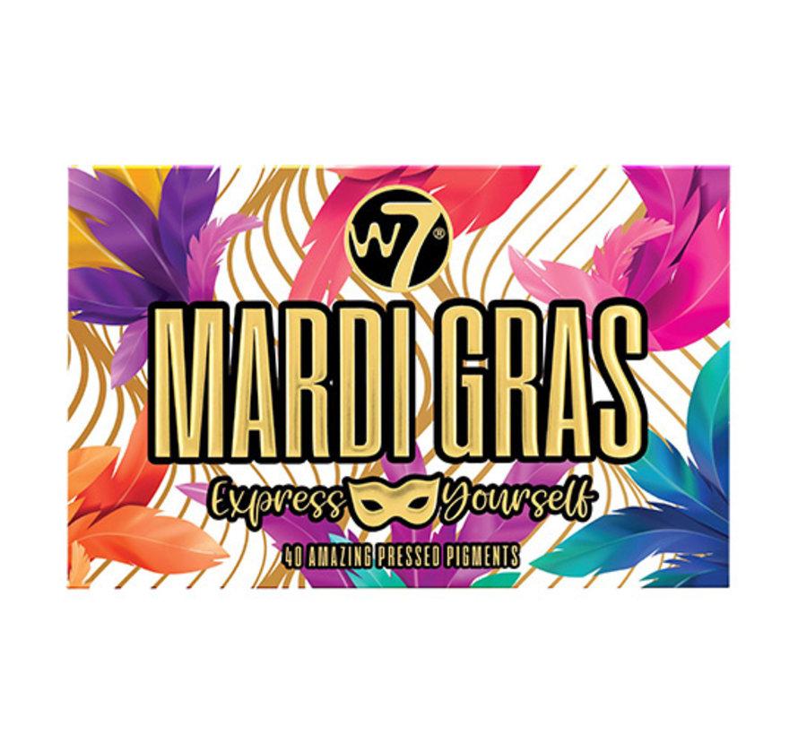 Mardi Gras Pressed Pigment Palette