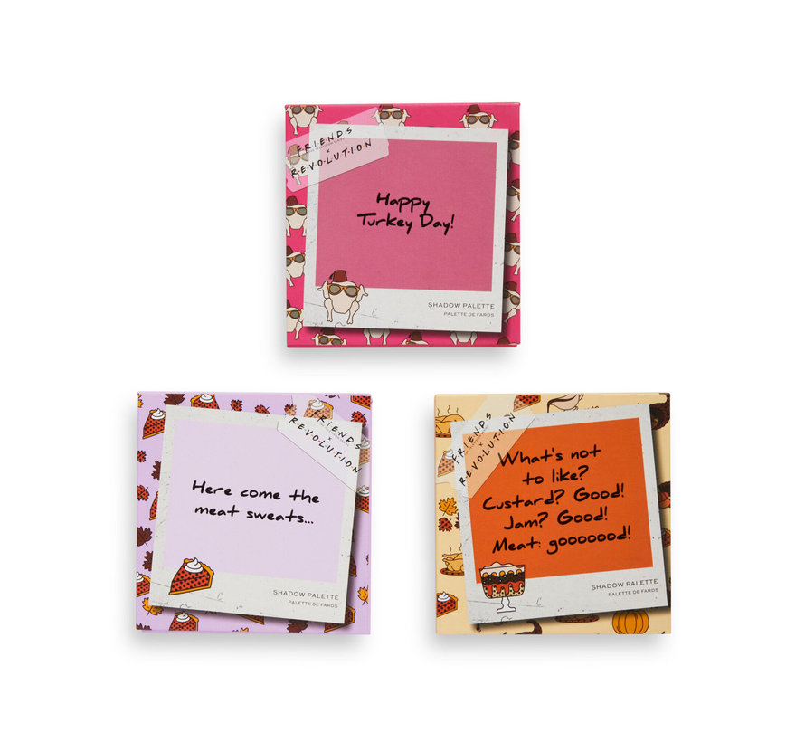 X Friends - The One With All The Thanks Giving's Eyeshadow Palette Set