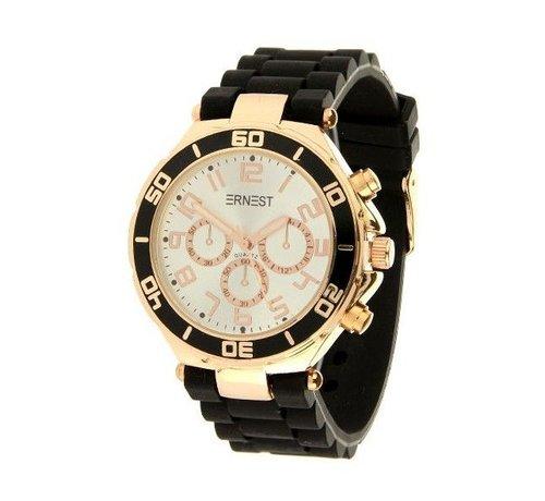 Ernest Romantic Black - Horloge