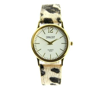 Ernest Leo Watch Beige