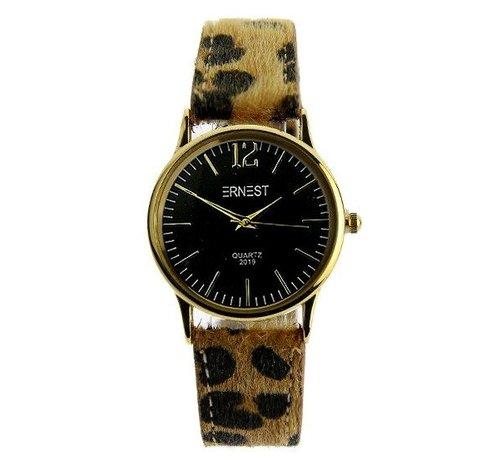 Ernest Leo Watch Black - Horloge
