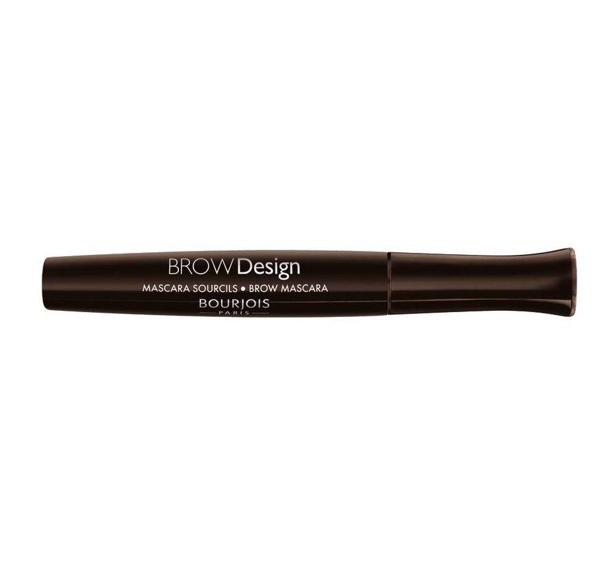 Brow Design - Brun - Wenkbrauw Mascara