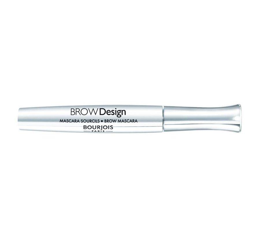 Brow Design - Transparant - Wenkbrauw Mascara