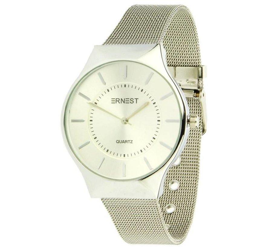 Just In Time - Zilver - Horloge