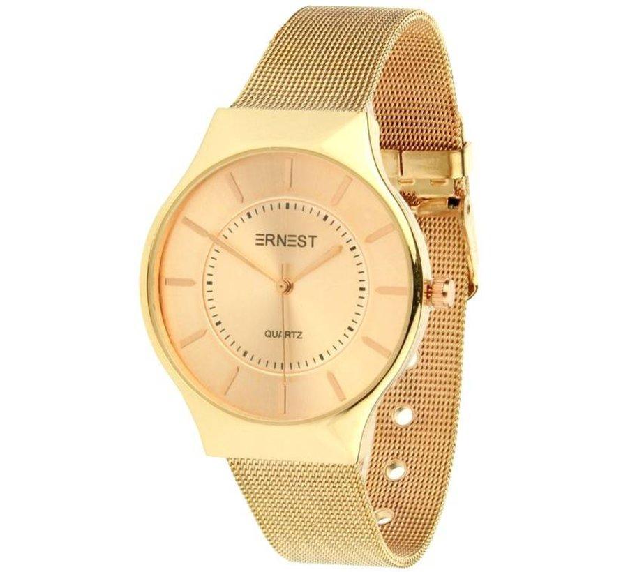 Just In Time - Rose - Horloge