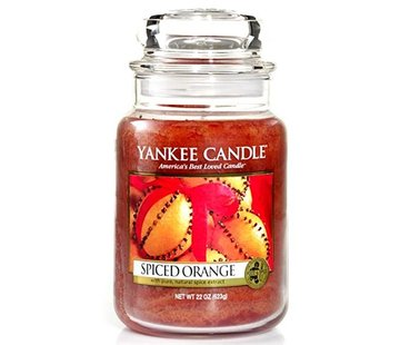 Yankee Candle Spiced Orange - Large Jar