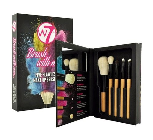 W7 Make-Up Brush With Me Set - Kwastenset