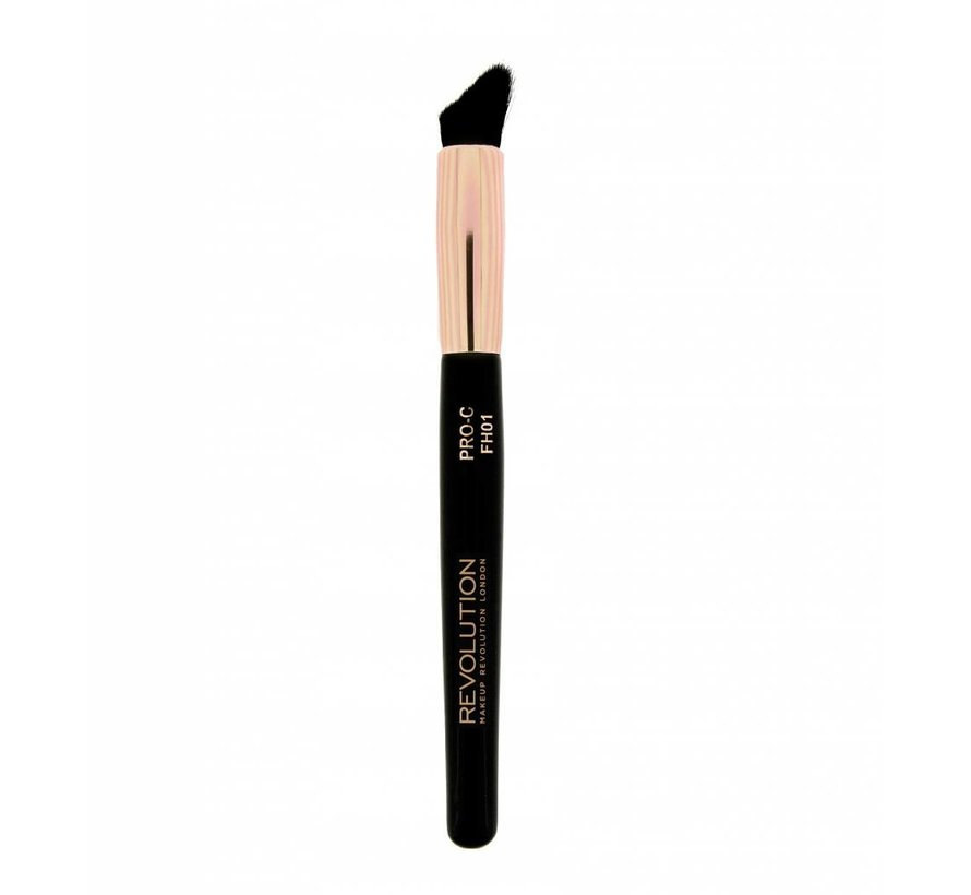 Pro Curve Contour Blush & Highlighter Brush - Kwast
