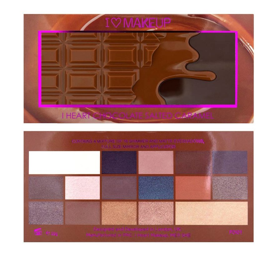 I Heart Chocolate Salted Caramel - Palette
