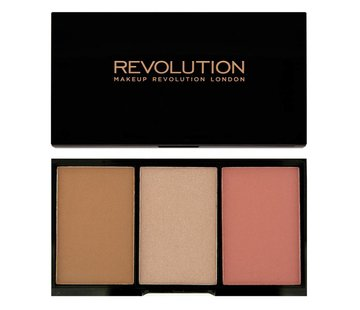 Makeup Revolution Iconic Blush, Bronze & Brighten - Flush