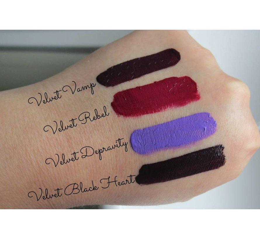 Salvation Velvet Matte Lip Lacquer - Vamp - Lipgloss