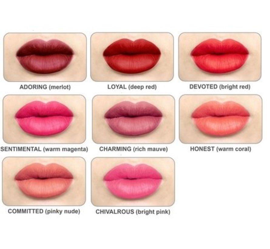 Meet Matt(e) Hughes - Charming Lipstick