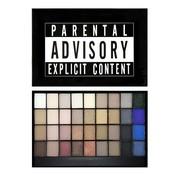 Makeup Revolution Slogan Palette - Explicit Content