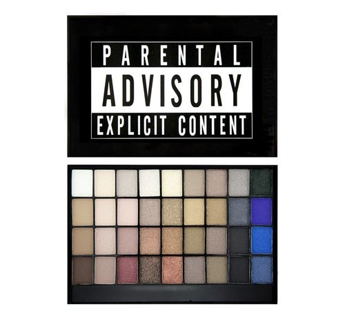 Makeup Revolution Slogan Palette - Explicit Content - Oogschaduwpalette